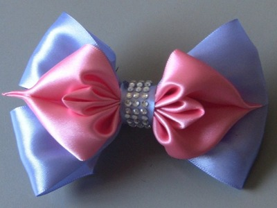 Magic bow ribbon - Laço magico de fita - DIY