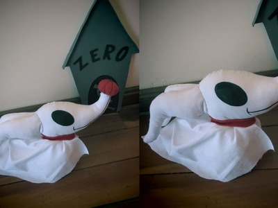 D.I.Y. Halloween: Zero - Cachorro Fantasma - O Estranho Mundo de Jack | #Halloweentododia