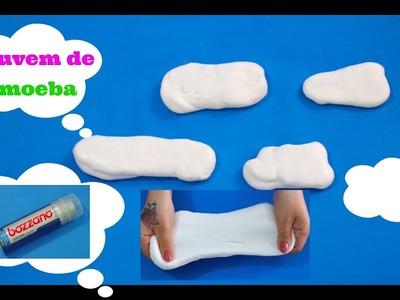 DIY: Como Fazer Nuvens de Amoeba Feita Com Espuma de Barbear