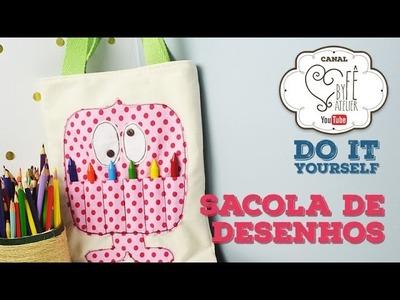 DIY ::: Sacola de Desenhos - By Fê Atelier