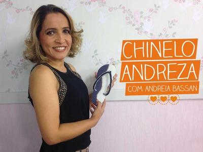 Chinelo Andreza com Andreia Bassan | Vitrine do Artesanato na TV