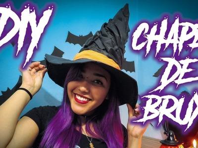 DIY Chapéu de Bruxa - Especial Mês das Bruxas
