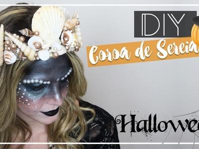 DIY - Coroa de Sereia. Halloween