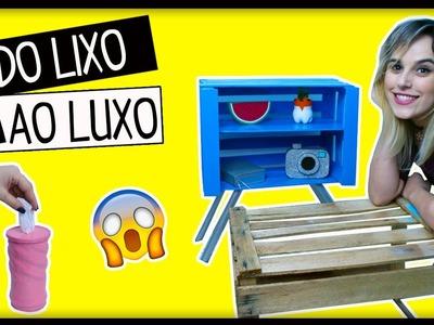 DIY: Do LIXO ao LUXO  #12 IDEIAS INCRÍVEIS PARA FAZER EM CASA