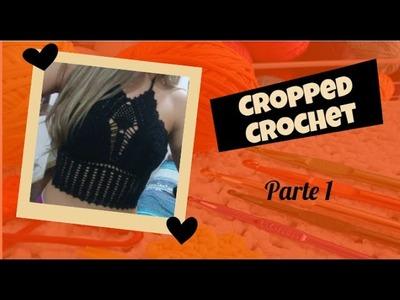 Cropped Crochê - passo a passo (parte 1)