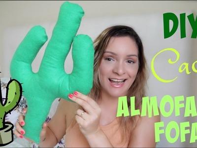 DIY Almofada de Cacto | #GLAUTODODIA 19 | Por Glaucia Sioli