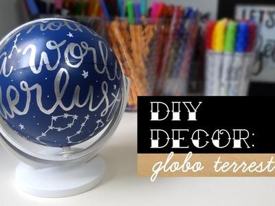 DIY Decor: Globo Retrô | Blog Primeiro Rabisco
