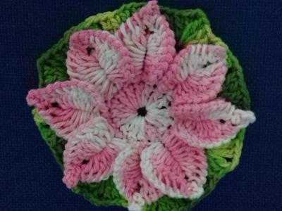 Flor em Crochê com Cristina Coelho Alves
