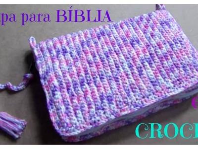 Crochê - Capa para Bíblia