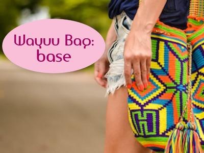 Wayuu bag: base (parte 1)