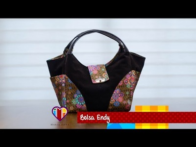 Bolsa de tecido Endy - Cursos e vendas de bolsas de tecido é no Maria Adna Ateliê