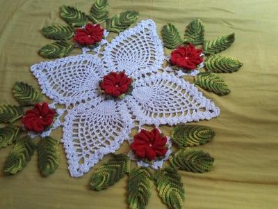 Flor do centro de mesa florido
