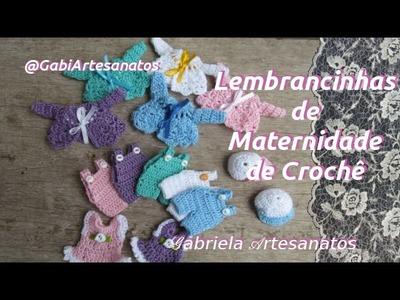 Lembrancinhas de Maternidade de Crochê
