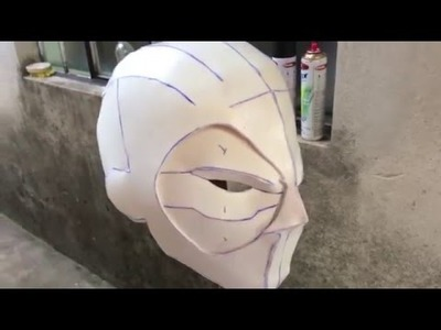 #15 Tio Stark - Pepakura. Papercraft - Deadpoll [ Como Fazer ] part. 01.02