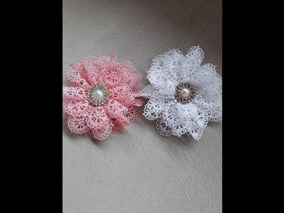 Como fazer flor em Guipir