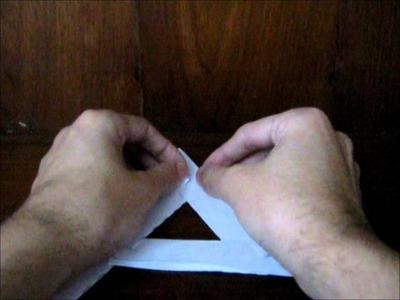Como fazer um bumerangue com material de escritório