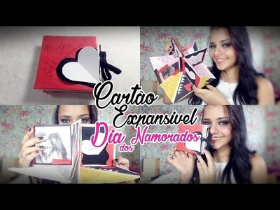 DIY#1: Cartão Expansível dia dos Namorados