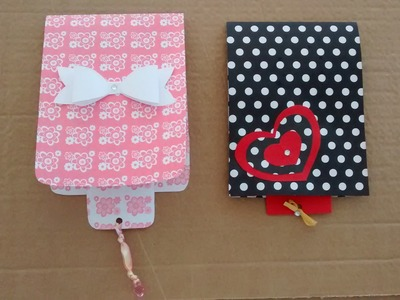 DIY - Cartão Cascata (presente para mãe, pai, namorado (a), amigos. )