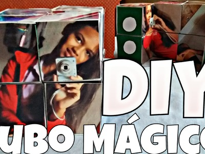 Presente Criativo. DIY CUBO MÁGICO COM FOTOS