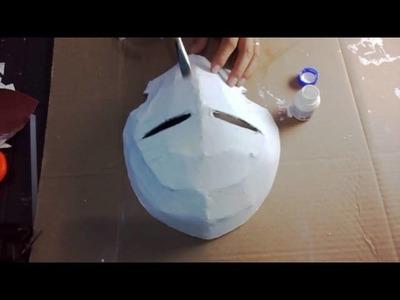Como fazer a máscara do Ichigo Kurosaki ( Bleach ) !