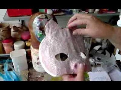 Máscara de Caixas de Leite (Milk Carton Mask)
