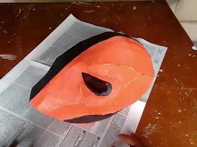 Mascara do deathstroke (Exterminador, Slade Wilson) Parte 1