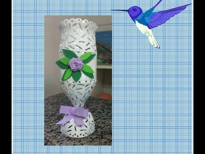 Reciclando Garrafa pet - Reciclagem e arte