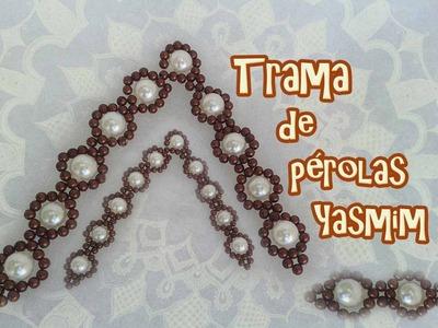 Trama de pérolas Yasmim