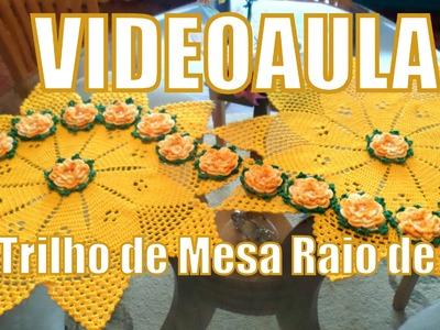 """Trilho de Mesa Raio de Sol - """"Diandra Schmidt Rosa"""""""
