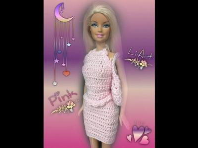 Saia para Barbie. croche - LiiArt