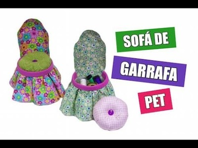 Sofá de Garrafa Pet