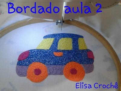 Bordando fralda com máquina doméstica (Aula 2) # Corte, costura e modelagem com Elisa Crochê