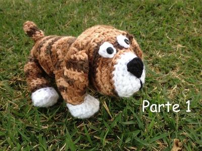 Cachorro em crochê. Parte 1 - Professora Maria Rita