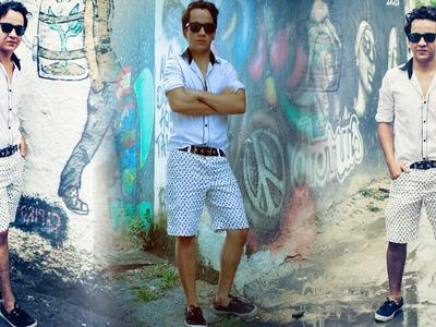 Tutorial de Costura: Bermuda Masculina