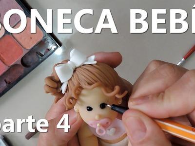 Boneca bebe - Parte 4 - Como fazer cabelos