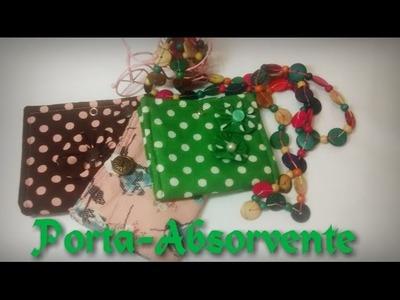 Porta Absorvente de Tecido - Tutorial de Costura Por: Dayse Costa