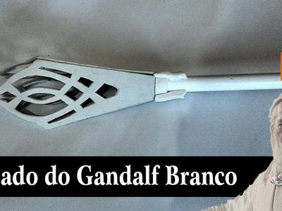 Cajado do Gandalf Branco - Faça você mesmo!