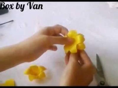 Como fazer flor em eva - Modelo 2
