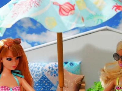 Como fazer um guarda-sol para bonecas Monster High, Barbie, MLP, EAH, etc