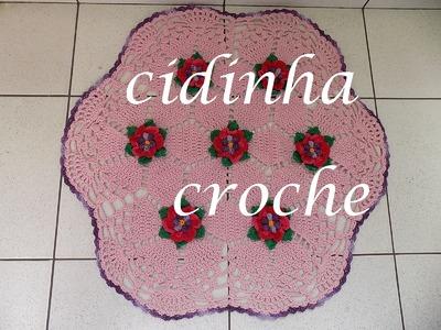 Croche-Tapete Modelo Holandes -Passo A Passo- Parte 2.2
