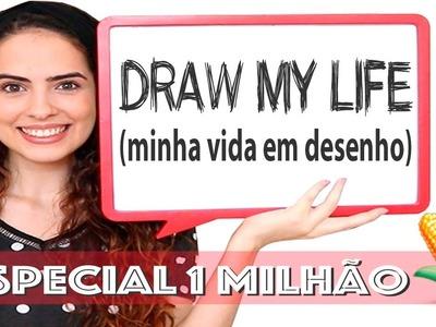 DRAW MY LIFE | Especial 1 MILHÃÃÃÃO