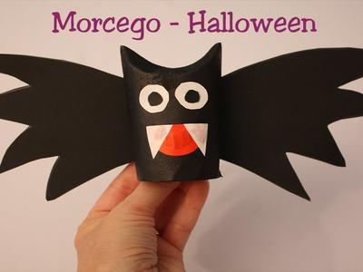 Morcego - Vampiro para Halloween - Muito fácil