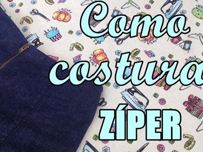 Como costurar zíper comum muito fácil  - Suellen Redesign