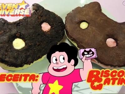 Receita: Biscoito Gatinho de Steven Universe (Cartoon Network)   De Bico Cheio