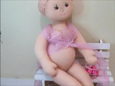 Boneca mamãe.Boneca grávida (corpo) enfeite maternidade