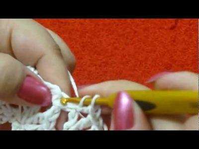BIG artes.com-Jogo americano 1.3 (FORRO) em crochê por Elaine Tripiano