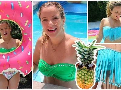 Prepare-se para o verão: Faça você mesmo, biquini, customização ✺