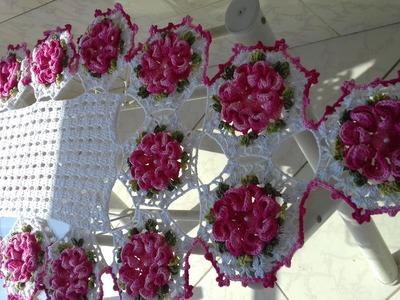 APRESENTAÇÃO DO TRILHO - CAMINHO DE MESA EM CROCHÊ POR CRISTINA COELHO ALVES