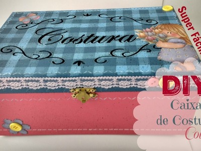 DIY - Caixa de Costura Country