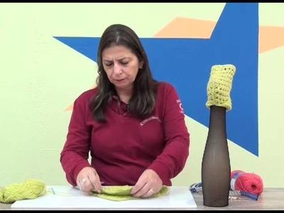 Sapatinho em croche  com Cisne Premium com Cristina Amaduro